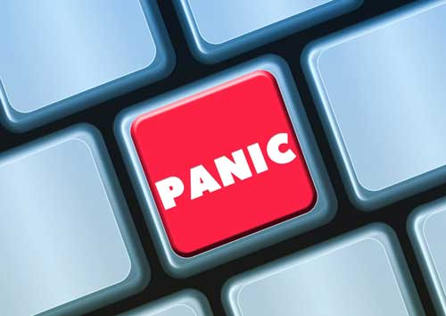 the panic button on your keyboard